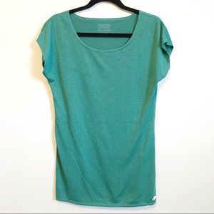 Patagonia green short sleeve T-shirt size small